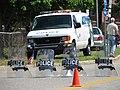 Police barricade, May 23, 2007.jpg