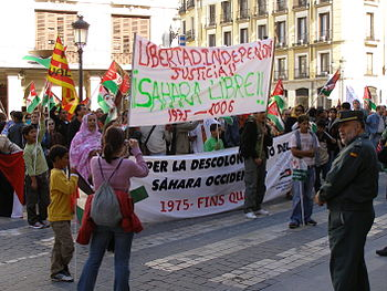 Polisario in Madrid