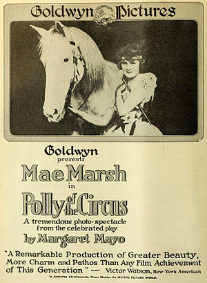 Archibald Selwyn - Poster for 'Polly of the Circus (1917)