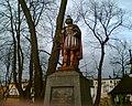 Pomnik Św. Floriana na praszkowskim rynku - panoramio.jpg