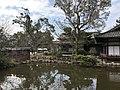 Pond near Saikan Hall of Sumiyoshi Grand Shrine.jpg