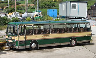 Plaxton - Preserved Plaxton Panorama Elite bodied AEC Reliance in June 2013