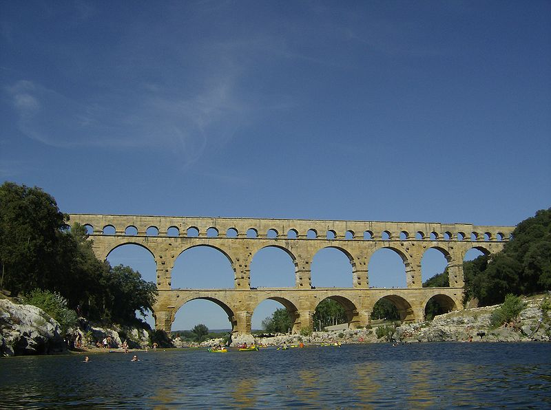 File:Pont Du Gard From River.JPG