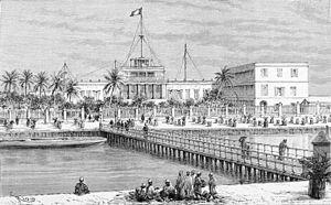 Timeline of Saint-Louis, Senegal - Image: Pont de Guet N'Dar