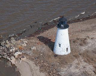Pooles Island Light lighthouse in Maryland, United States