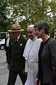 Pope Francis with Sally Jewell (21584770418).jpg