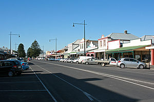 Port Fairy - The main shopping precinct