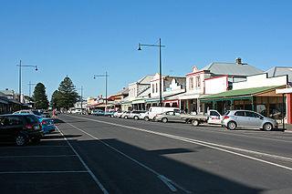 Port Fairy Town in Victoria, Australia
