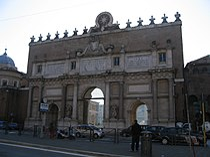 Porta del Popolo Octavian.JPG