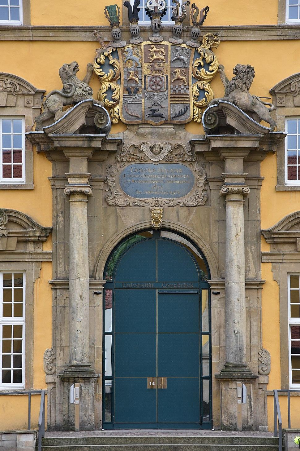 Portal Schloss Osnabrück 2017