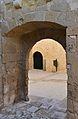 Portal a l'antiga alcassaba del castell de santa Bàrbara, Alacant.JPG