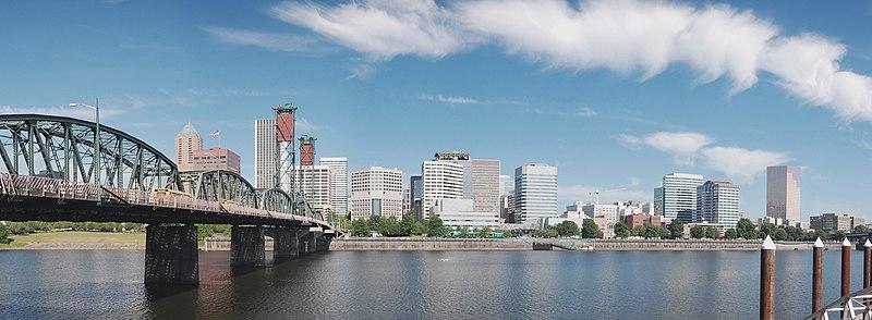 Portland, OR panorama