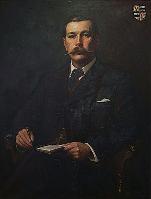 Portrait of Arthur conan doyle by Sidney Paget...