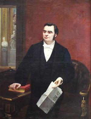 Moïse Polydore Millaud - Image: Portrait de Moïse Millaud, (Bordeaux 1813 et Paris 1871)