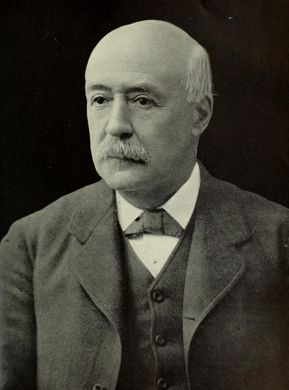 Portrait of Alexander Emanuel Agassiz