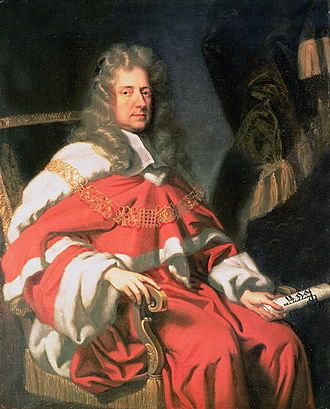 George Jeffreys, 1st Baron Jeffreys - Portrait of Judge George Jeffreys, First Baron of Wem