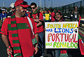 Portugal fans before Brazil & Portugal match at World Cup 2010-06-25 4.jpg