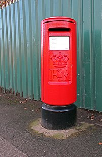 Type K postbox