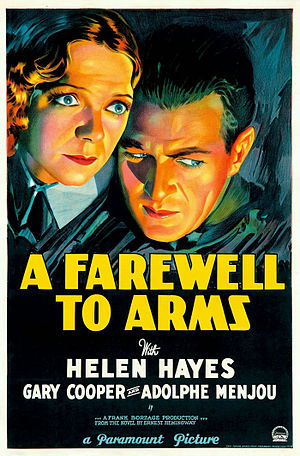 A Farewell to Arms (1932 film) - Theatrical release poster