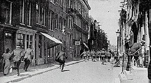 1917 Potato riots - Police vs. Civilians during the Riots.