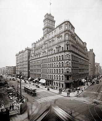 Andrew Jackson Warner - Powers Building, 1869