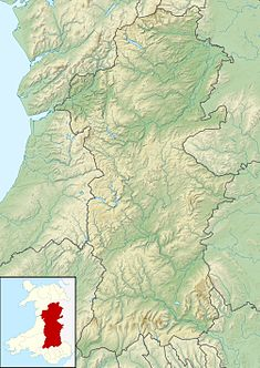 Hen Domen is located in Powys