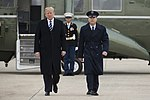 President Donald Trump and Col. Casey D. Eaton.jpg