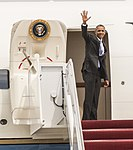 President Obama departs for Sooner State aboard Air Force One 150715-F-WU507-146.jpg
