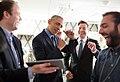 President Obama jokes backstage with Jimmy Fallon.jpg