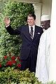 President Ronald Reagan with President of Guinea Ahmed Sekou Toure.jpg