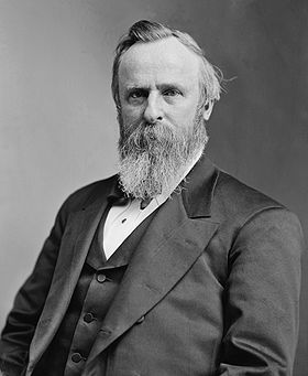 Rutherford B. Hayes dans les années 1870