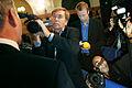 Pressbevakning av de nordiska statsministrarna under Nordiska radets session i Stockholm.jpg