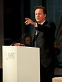 Prime Minister David Cameron, speaking at the opening of the GAVI Alliance immunisations pledging conference.jpg