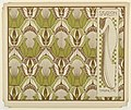 Print, Sigalion Tapete (Sigalion Wallpaper), plate 9, in Die Quelle- Flächen Schmuck (The Source- Ornament for Flat Surfaces), 1901 (CH 18670547-2).jpg