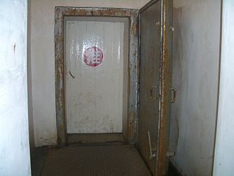 Underground Project 131 - Doors in the tunnel near the entry