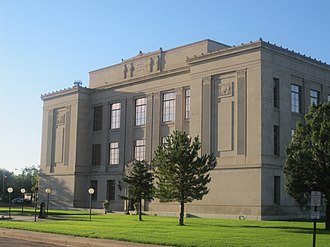 Prowers County, Colorado - Image: Prowers County, CO, Courthouse IMG 5780