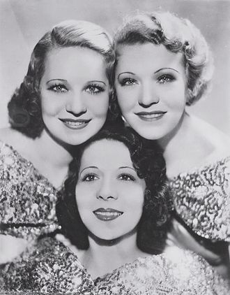 Three X Sisters - Three X Sisters, circa 1935