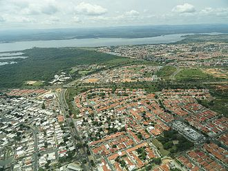Ciudad Guayana - Puerto Ordaz City view from sky
