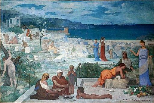 Puvis - Marseille colonie grecque-