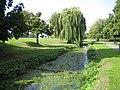 Pymme's Brook in Oak Hill Park, East Barnet - geograph.org.uk - 235920.jpg