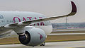 Qatar Airways Airbus A350-941 A7-ALA (16317665675).jpg