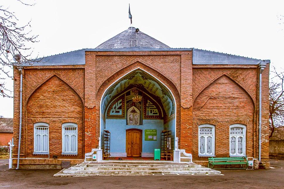 Qazaxlar məscidi əsas fasad
