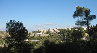 Al-Qubeiba, Jerusalem - Image: Qubeiba view 01 2012 03 17