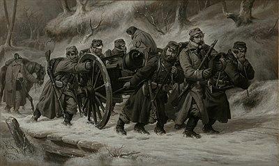 Rückzug aus dem Danewerk 5-6. Februar 1864.jpg