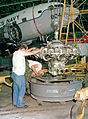 R-1820 engine loaded into container 1982.JPEG