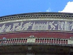 RAH frieze, Peterborough Cathedral
