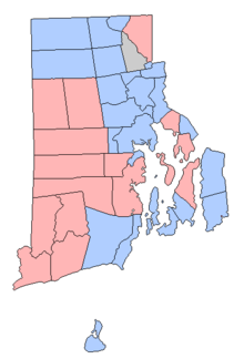 Rhode Island Party Affiliation