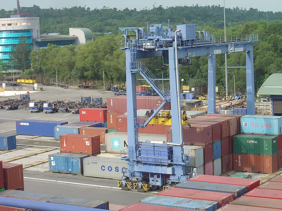 RTG at Bintulu International Container Terminal (BICT)