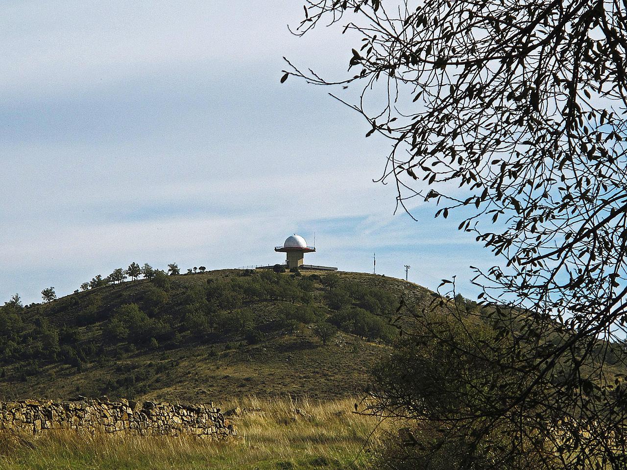 File Radar De Aena Alcolea Del Pinar Jpg Wikimedia Commons