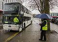 Rail replacement bus at Newport (32057992025).jpg